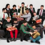 SanFrancisco's esteemed male vocal ensemble, Chanticleer, will stream holiday cheer via Spivey Hall's digital platform on Sunday. (courtesy of Spivey Hall)