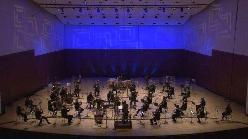 Atlanta Symphpny Orchstra plays Haydn's symphony No. 103. (video frame capture / ASO)