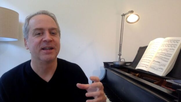 Jeremy Denk talks Bach. (source: video frame capture)
