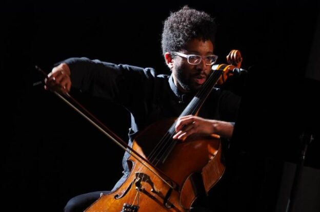 Chicago-based cellist Seth Parker Woods is soloist in this week's Behind the Curtain virtual concert by the Atlanta Symphony Orchestra. (source: Wikimedia Commins)