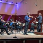 """The At;anta Symphony Orrchestra performs Mozart's """"Violin Concerto No. 3"""" with David Coucheron as soloist, led by guest coinhductor Nathalie Stutzmann. (credit: ASO)"""