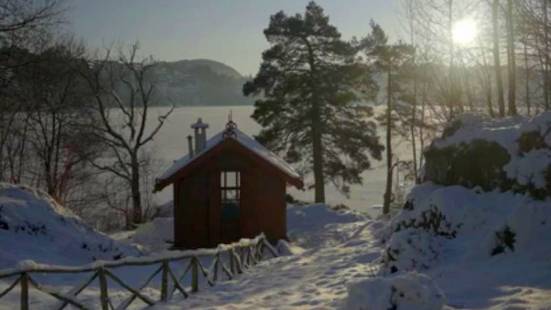 The composing cottage of Edvard Grieg. (video frame, Spivey Hall / OCL)