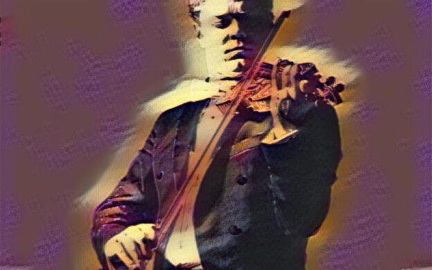 Atlanta Symphony Orchestra concertmaster David Coucheron sp;ps in Mozart's Violin Concerto No. 3, in Thursday's virtual concert by the ASO.