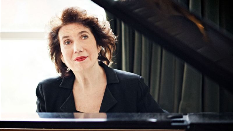 Spivey Hall presents pianist Imogene Cooper in a virtual recital this Sunday, April 18. (Image courtesy of Spivey Hall)