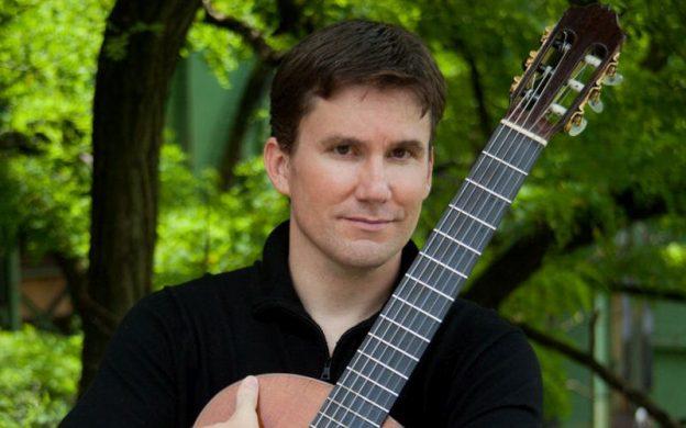 Classical guitarist Peter Fletcher