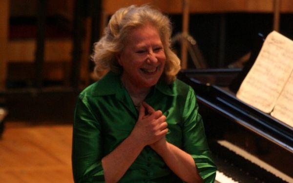 Ursual Oppens, pianist (credit: Hilary Scott)