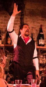 Milton Loayza as El Duende. (photo: Jeff Roffman)