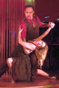 Tango dancers Analia Centurion and Jeremias Fors. (photo: Jeff Roffman)
