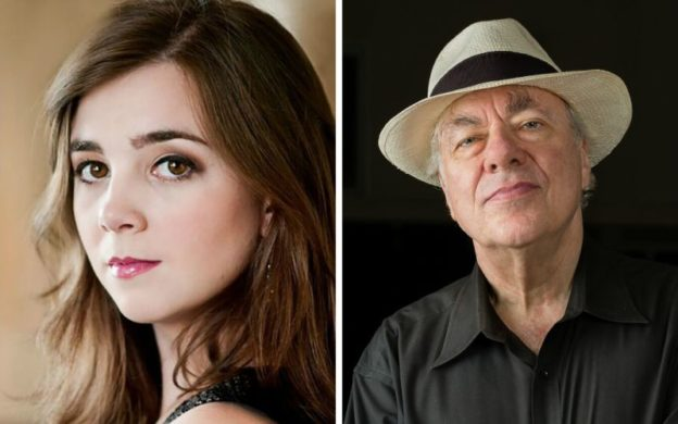 Soprano Sarah Shafer & pianist Richard Goode. (courtesy of Spivey Hall)