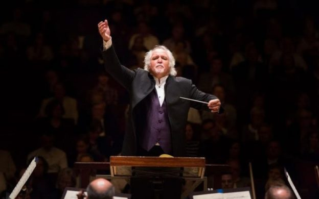 Donald Runnicles conducts the ASO this Thursday and Saturday. (credit Jeff Roffman)