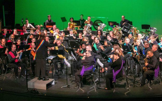 The Atlanta Freedom Bands' Concert Band. (credit: Dan Lax Media.)