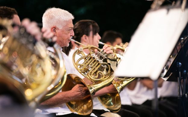 The Atlanta Symphony Orchestra will perform at Piedmont Park again this Wednesday. (credit: Jeff Roffman)