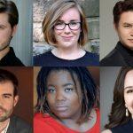 Top row, l-r: Jonathan Bryan, Ellen Jackson, Isaac Kim. Bottom row, l-r: Álvaro Corral Matute, Jouelle Roberson, Elizabeth Sarian. (photos courtesy of The Atlanta Opera.)
