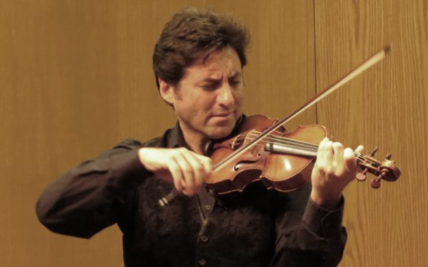 Violinist Philippe Quint performed at the Highlands-Cashiers Chamber Music festival this past weekend. (credit: Mark Gresham)