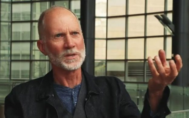"John Luther Adams, composer of ""Become Desert."" (source: YouTube)"