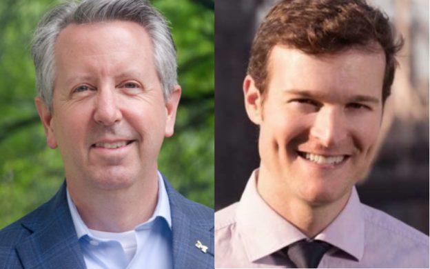 The Atlanta Opera's two newest development officers: chief advancement officer Paul Harkins and individual giving officer Jonathan Blalock. (credits: Somya Bhagwager & Matt Madison-Clark)