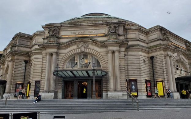 Usher Hall. (photo: William Ford)