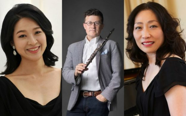 Youngmi Kim, Todd Skitch and You Ju Lee perform at Spivey Hall on August 31. (source: Spivey Hall)