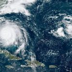 Photo of Hurricane Dorian take by the GOES 16 satellite on Monday at 12:40pm ET. (source: National Oceanic and Atmospheric Administration (NOAA))
