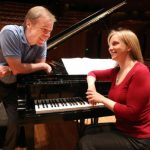 Musical team: conductor David Robertson and pianist Orli Shaham. (courtesy of the Sydney Symphony)