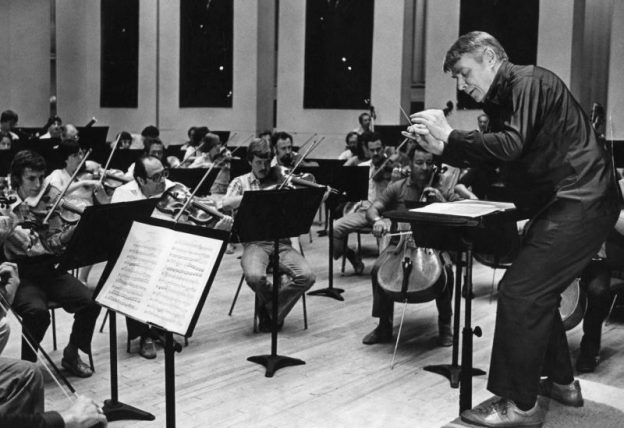 Robert Shaw in Rehearsal (ASO Archives)