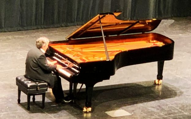 Sergei Babayan performs music of Chopin at the Sandy Springs Performing Arts Center. (courtesy of Chopin Society of Atlanta.)