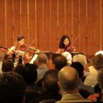 Peachtree String Quartet performing at Garden Hills Recreation Center. (credit: Mark Gresham)