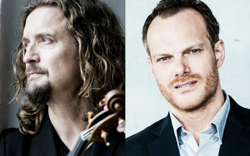 Violinist Christian Tetzlaff and pianist Lars Vogt. (composite image)