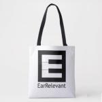 EarRelevant Tote Bag (n Zazzle)