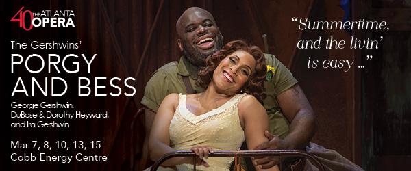 Ad: The Atlanta Opera, Porgy and Bess