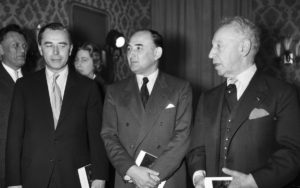 Piano powerhouses: Rudolf Firkušný, Nikita Magaloff and Arthur Rubinstein (1960)