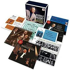 Rudolf Firkušný: The Complete RCA and Columbia Album Collection (Sony Classical) Rudolf Firkušný, piano; various artists Format: Audio CD (18 disc boxed set), import Label: Sony Classical Release date: September 27, 2019