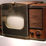 RCA 630-TS, the first mass-produced television set (1946–1947). (source: Wikimedia.org CC BY-SA 3.0)