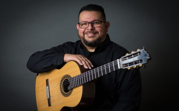 Guitarist Isaac Bustos can be heard this week on WABE's Atlanta Music Scene, in a recital recorded at Kopleff Recital Hall.. (photo courtesy: of University of Texas at San Antonio)