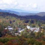 Highlands, North Carolina, as sen from Sunset Rock.