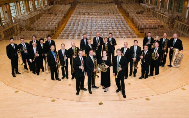 National Brass Ensemble, 2015. (source: michaelsachs.com)