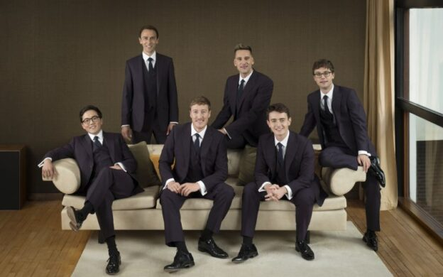 The King's Singers (credit: Rebecca Reid)