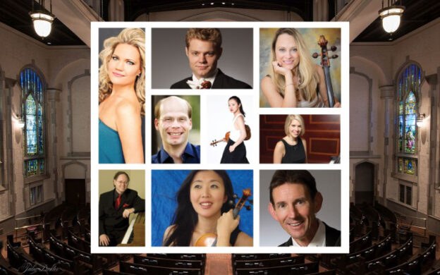"""Nine of Atlanta's top musicians gather for a second time this summer to live-stream chamber music from the sanctuary of First Presbyterian Church. (See """"Concerts @ First"""")"""