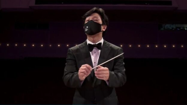 ASO associate conductor Jerry Hou.