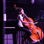 Atlanta Music Project student bassist Alivia Carter performs at the Atlanta Music Project Center for Performance and Education, accompanied by pianist Jack Wagner. [credit: AMP]
