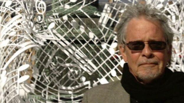 A recent photo of composer Daniel Lentz at the Place Vendôme, Paris, pre-pandemic. (courtesy of the composer)