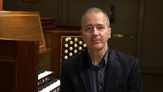 Spivey Hall's organist-in-residence, Alan Morrison
