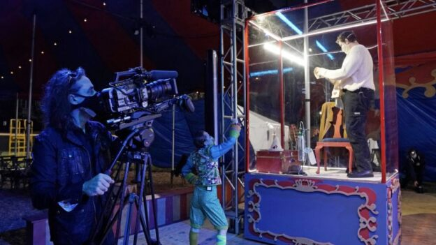 Felipe Barral Filming Pagliacci (credit:y Ken Howard)