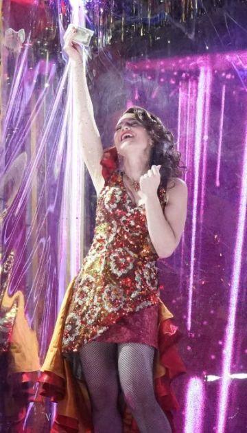 Take the money and dance: Megan Marino as Carmen. (credit: ken Howard)