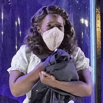 Jasmine Habersham as Micaëla. (credit: ken Howard)