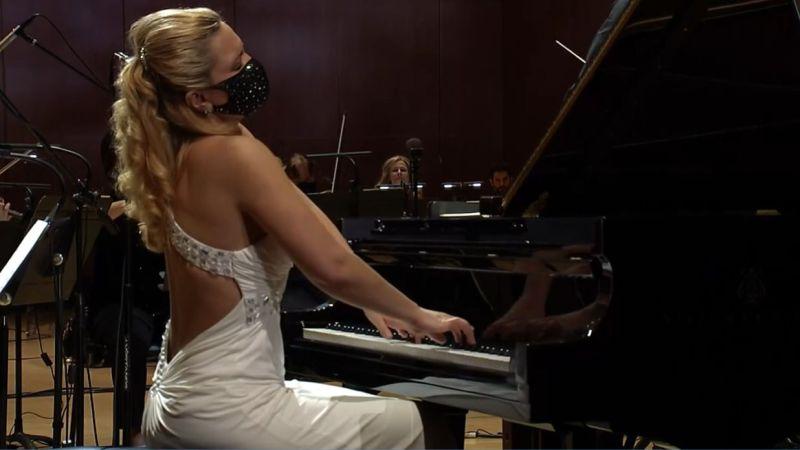Julie Coucheron (video frame: ASO)