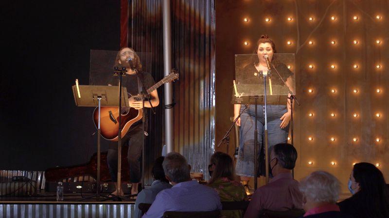 Theo and Gabby sing a duet. (credit:Felipe Barral / The Atlanta Opera)