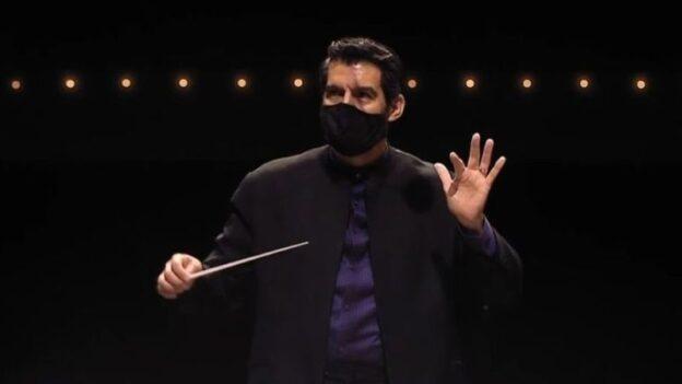Guest conductor Miguel Harth-Bedoya. (source: ASO)