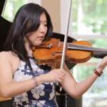 Violinist Helen Hwaya Kim.