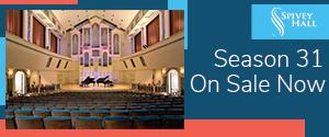 Spivey Hall 2021-22 Season (ad)